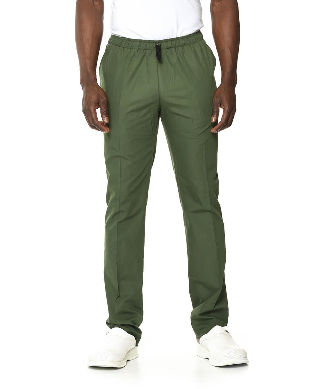 Terrycotton Asker Yeşili Pantolon
