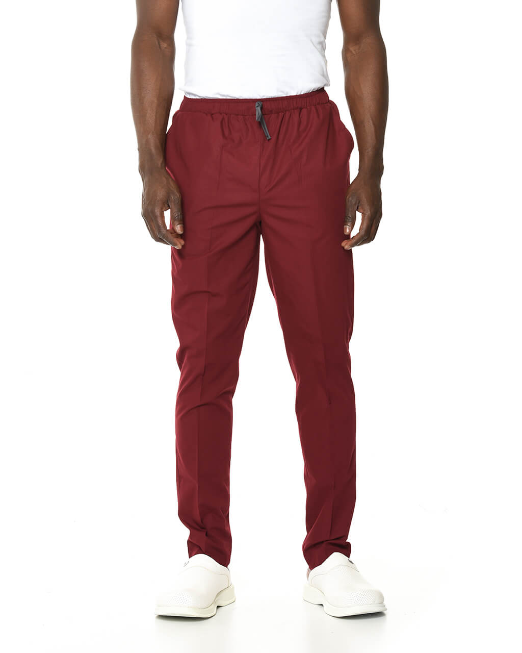 Terrycotton Bordo Pantolon