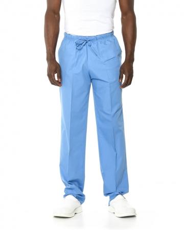Klasik Erkek İndigo Mavisi Doktor & Hemşire Pantolonu