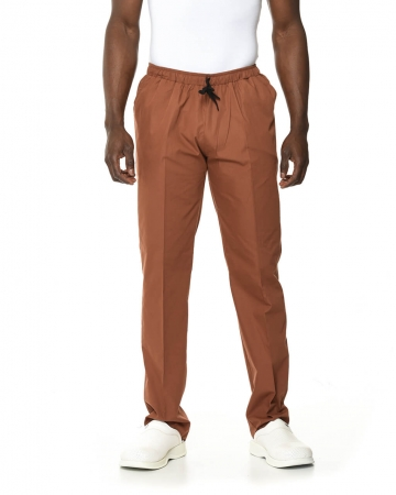 Klasik Erkek Kahverengi Doktor & Hemşire Pantolonu