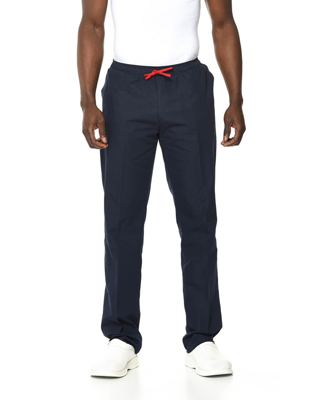 %100 Pamuk Likralı Lacivert Pantolon