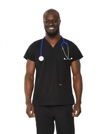 Klasik Erkek Siyah Doktor & Hemşire Forması