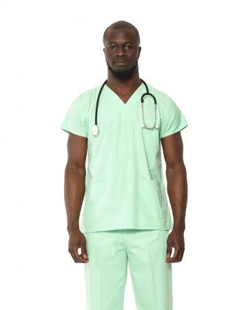 Klasik Erkek Su Yeşili Doktor & Hemşire Forması