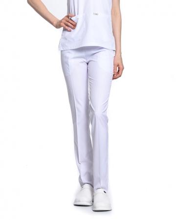 Klasik Kadın Beyaz Doktor & Hemşire Pantolonu