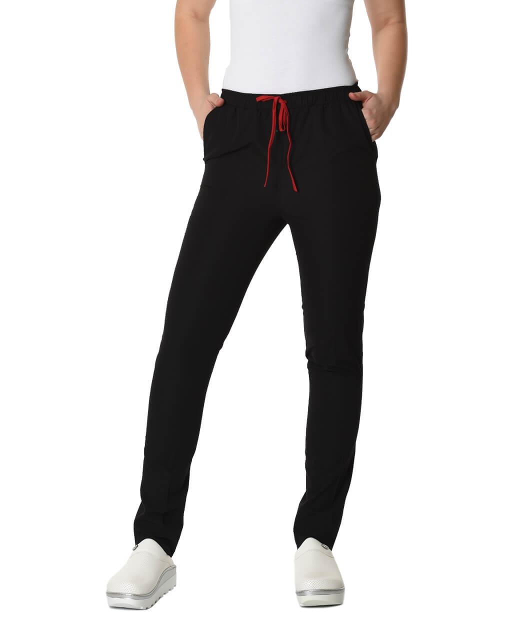 Terrycotton Siyah Pantolon
