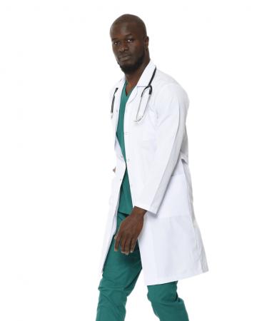 Klasik Yaka Erkek Uzun Boy Doktor Önlüğü