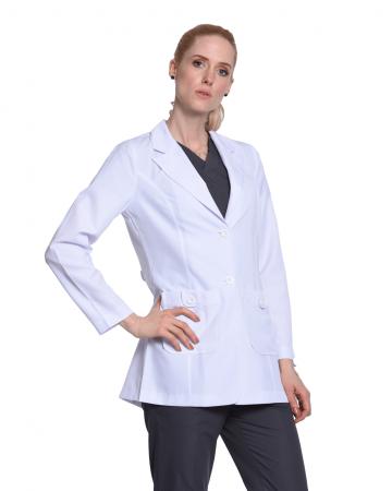 Kruvaze Kadın Doktor Önlüğü