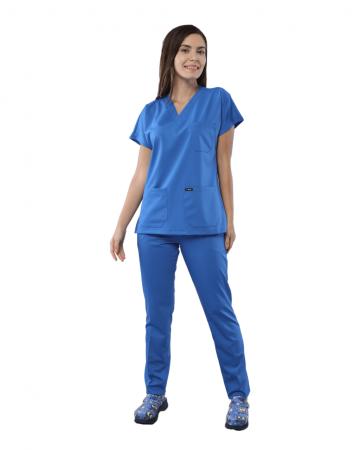 Relax Kadın Mavi Doktor & Hemşire Takımı