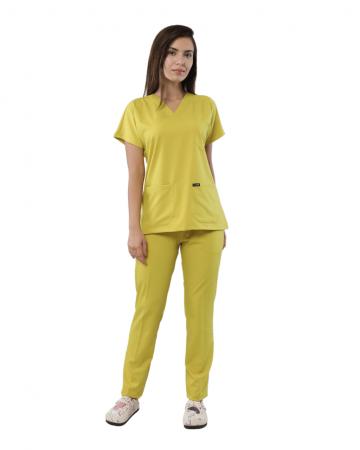 Relax Kadın Sarı Doktor & Hemşire Takımı
