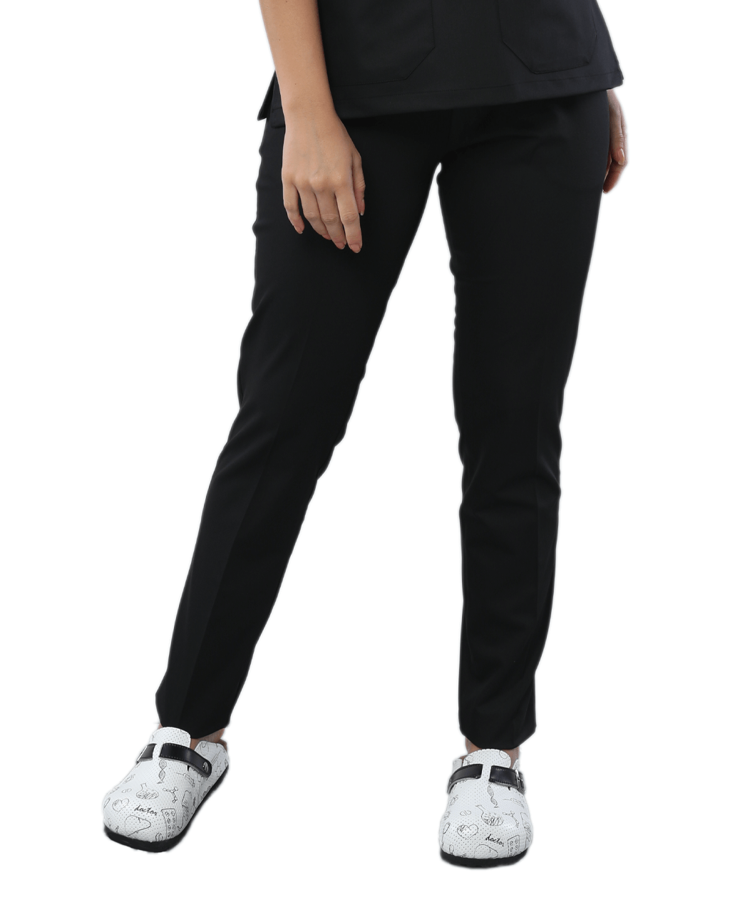 Likralı Siyah Pantolon