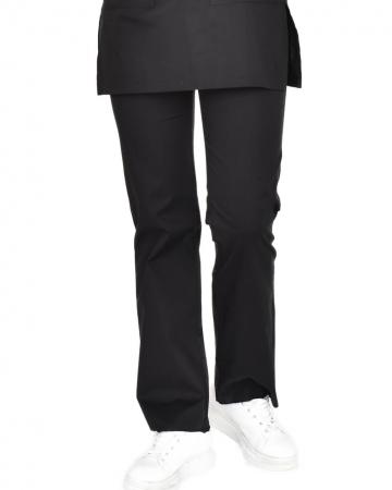 Tesettür Siyah Pantolon 100% Pamuk Likralı