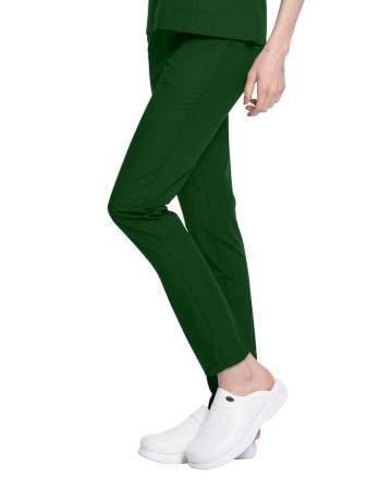 Terrycotton Avcı Yeşili Doktor ve Hemşire Pantolonu