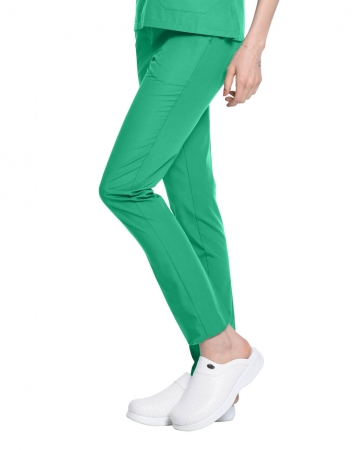 Terrycotton Petrol Yeşili Doktor ve Hemşire Pantolonu
