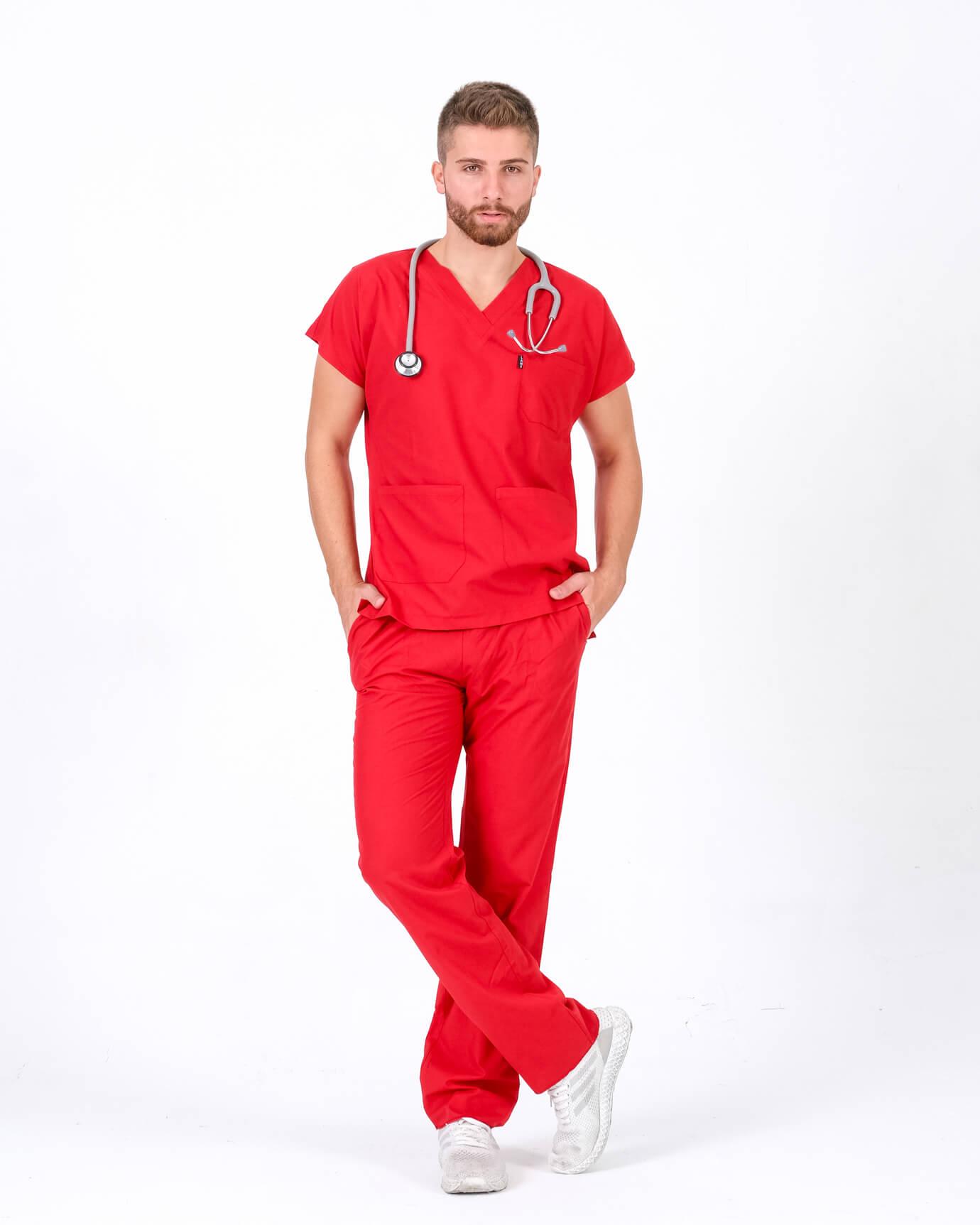 Terrycotton Kırmızı Takım