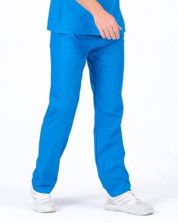 Çivit Mavisi Terrycotton Erkek Doktor ve Hemşire Pantolonu