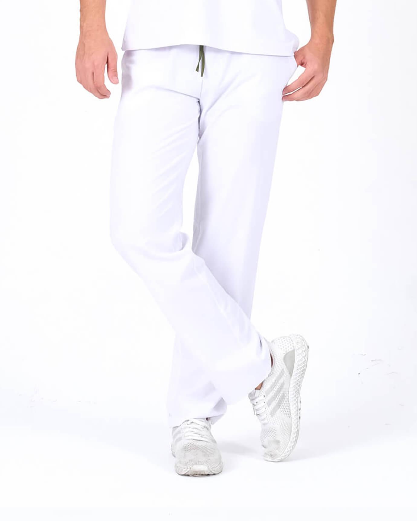 Premium Seri Relax Beyaz Pantolon