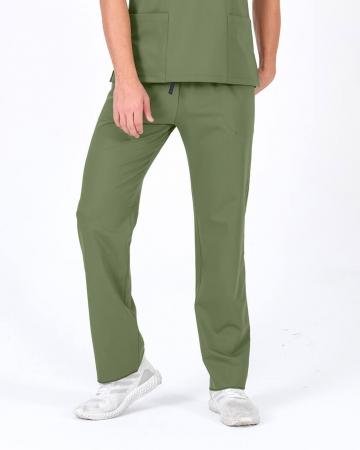 Erkek Mint Yeşili Relax  Likralı Doktor ve Hemşire Pantolonu