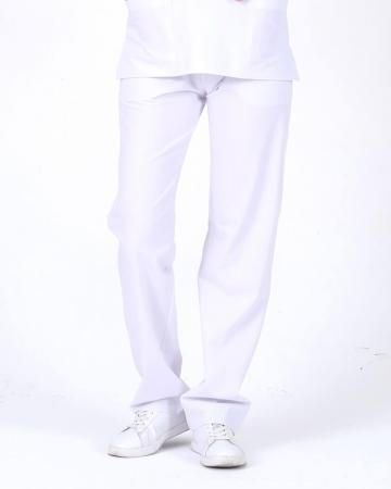 Kadın Beyaz Relax Likralı Takma Kol Doktor ve Hemşire Forması