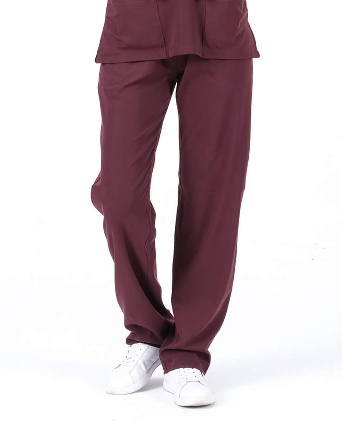 Premium Seri Relax Koyu Bordo Pantolon