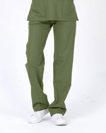 Kadın Mint Yeşili Relax  Likralı Doktor ve Hemşire Pantolonu