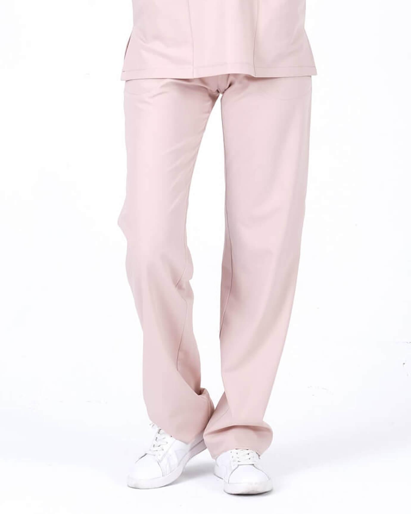 Premium Seri Relax Toz Pembe Pantolon